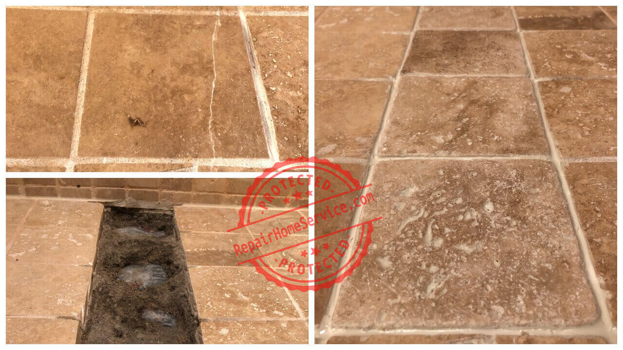 tile floor repair