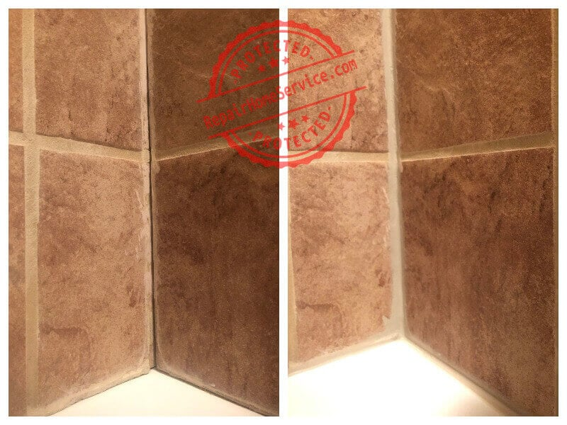 bathroom grout replacament