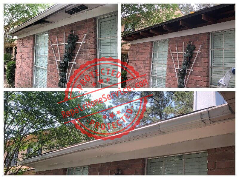 outdoor ceiling fascia repair