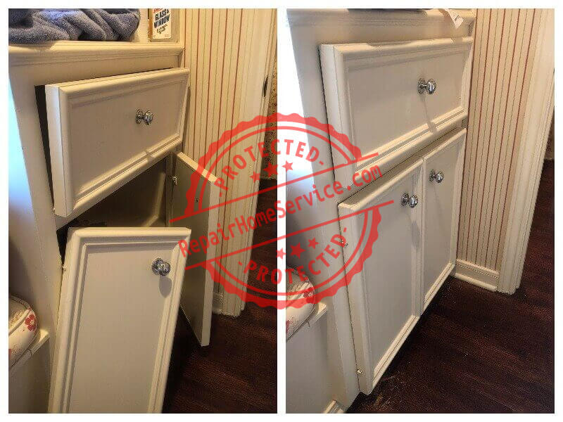 cabinet repair and restoration