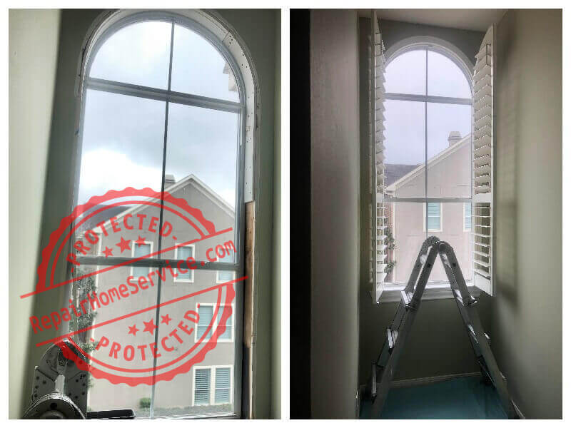 window leak repair